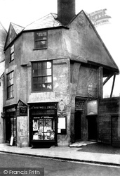 Oxford, Oldest House 1907