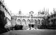 Oxford, Oriel College 1890