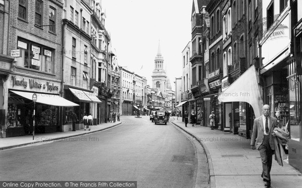 Oxford, Queen Street c1950