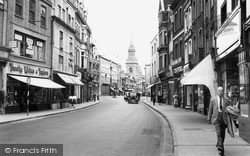 Oxford, Queen Street c.1950