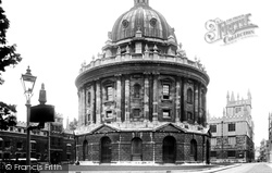 Oxford, Radcliffe Camera 1937