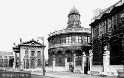Oxford, Sheldonian Theatre 1922