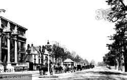 Oxford, St Giles Street 1890