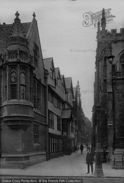 Photo of Oxford, St Mary's Entry 1912