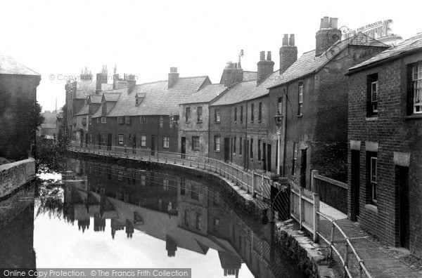 Oxford, the Canal, Station Road c1910
