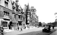 Oxford, The Masters Lodgings And Balliol College 1922