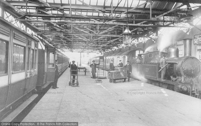 Oxford, The Railway Station 1914