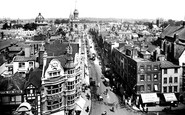 Oxford, View From Carfax Tower 1922