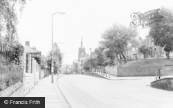 Chalk Hill c.1960, Oxhey