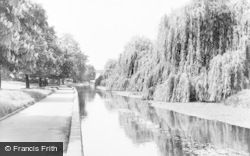 Park, The River Colne c.1960, Oxhey