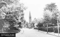 St Mathew's Church c.1960, Oxhey
