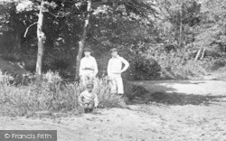 Oxshott, Boys In The Woods 1904