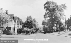 Oxshott, Leatherhead Road c.1960