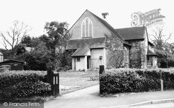 Oxshott, St Andrew's Church c.1965