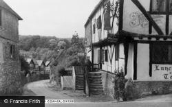 Oxted, Bell Inn Corner c.1955