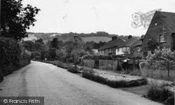 Chalk Pit Lane c.1960, Oxted