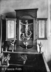 Oxted, Church, War Memorial Shrine 1925