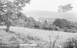 Oxted, From Gangers Hill c.1955