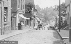 Oxted, High Street 1906