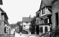 Oxted, High Street 1908