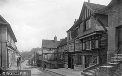 Oxted, High Street 1921