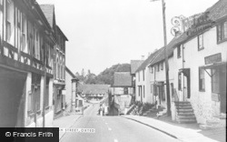Oxted, High Street c.1955