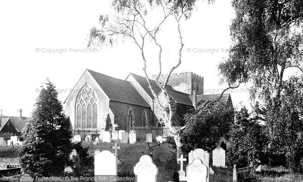 Photo of Oxted, St Mary's Church 1906