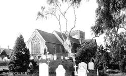 Oxted, St Mary's Church 1906