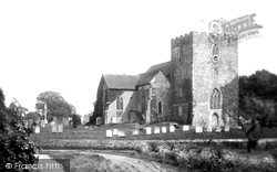 Oxted, St Mary's Church 1923