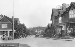 Oxted, Station Road East 1908