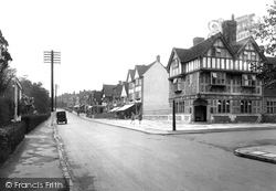 Oxted, Station Road East 1930