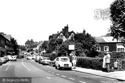 Oxted, Station Road East c.1965