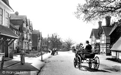Oxted, Station Road West 1908