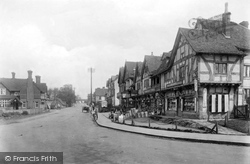 Oxted, Station Road West 1921