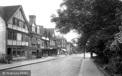 Oxted, Station Road West 1924