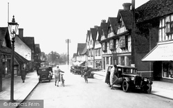 Oxted, Station Road West 1932