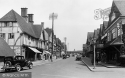 Oxted, Station Road West 1936