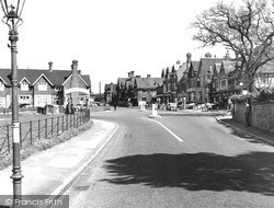 Oxted, Station Road West c.1955