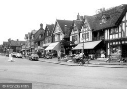 Station Road West c.1955, Oxted