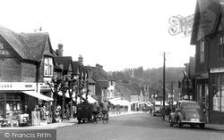 Oxted, The High Street c.1955