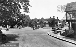 Oxted, The Hoskins Arms Hotel 1936