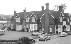 Oxted, The Hoskins Arms Hotel c.1955