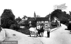 Oxted, Town Farm Corner 1908