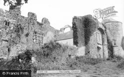 Oxwich, Castle c.1965