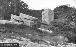 Oxwich, Church 1910