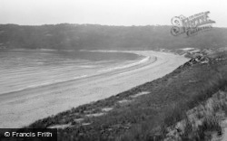 Oxwich, The Bay Looking South c.1935