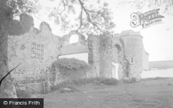 Oxwich, The Castle c.1935