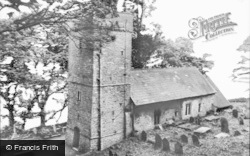 Oxwich, The Church c.1965