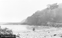 Oxwich, The Cliffs c.1950