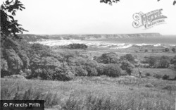 Oxwich, The Sand Dunes c.1960